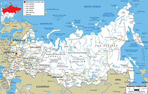 rosja-mapa
